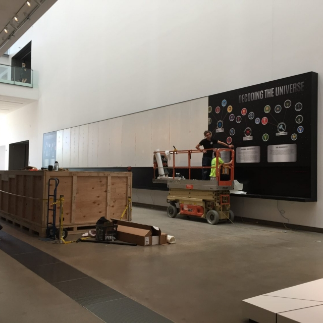 Marvel Cinematic Universe physical installation progress