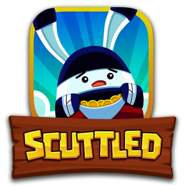 Scuttled game logo